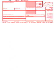 """IRS Form 1099-A """"Acquisition or Abandonment of Secured Property"""", Page 2"""