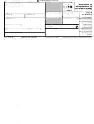"""IRS Form 1099-A """"Acquisition or Abandonment of Secured Property"""", Page 3"""