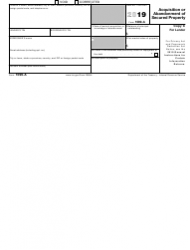 """IRS Form 1099-A """"Acquisition or Abandonment of Secured Property"""", Page 5"""