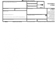 """IRS Form 1099-C """"Cancellation of Debt"""", Page 3"""