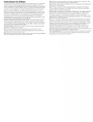 """IRS Form 1099-C """"Cancellation of Debt"""", Page 4"""