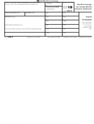 """IRS Form 1099-H """"Health Coverage Tax Credit (Hctc) Advance Payments"""", Page 2"""