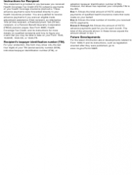 """IRS Form 1099-H """"Health Coverage Tax Credit (Hctc) Advance Payments"""", Page 3"""