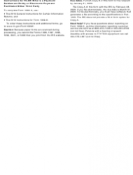 """IRS Form 1099-K """"Payment Card and Third Party Network Transactions"""", Page 8"""