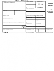 """IRS Form 1099-INT """"Interest Income"""", Page 2"""