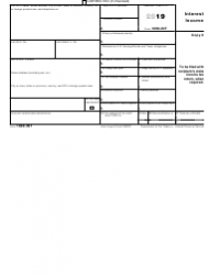 """IRS Form 1099-INT """"Interest Income"""", Page 5"""