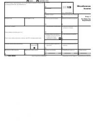"""IRS Form 1099-MISC """"Miscellaneous Income"""", Page 3"""