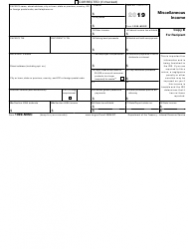 """IRS Form 1099-MISC """"Miscellaneous Income"""", Page 4"""