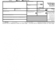 """IRS Form 1099-QA """"Distributions From Able Accounts"""""""