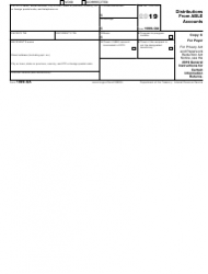 """IRS Form 1099-QA """"Distributions From Able Accounts"""", Page 4"""