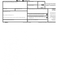 """IRS Form 1099-S """"Proceeds From Real Estate Transactions"""", Page 5"""