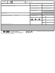 """IRS Form W-2AS """"American Samoa Wage and Tax Statement"""", Page 3"""