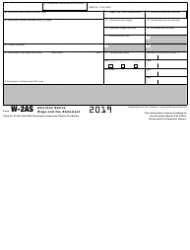 """IRS Form W-2AS """"American Samoa Wage and Tax Statement"""", Page 4"""