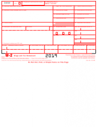 """IRS Form W-2 """"Wage and Tax Statement"""", Page 2"""