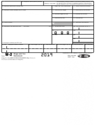 """IRS Form W-2 """"Wage and Tax Statement"""", Page 6"""