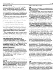 """IRS Formulario W-9(SP) """"Solicitud Y Certificacion Del Numero De Identificacion Del Contribuyente"""" (Spanish), Page 3"""