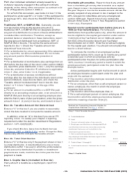 """Instructions for IRS Form 1099-R, 5498 """"Distributions From Pensions, Annuities, Retirement or Profit-Sharing Plans, Iras, Insurance Contracts, Etc."""", Page 12"""
