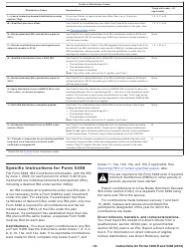 """Instructions for IRS Form 1099-R, 5498 """"Distributions From Pensions, Annuities, Retirement or Profit-Sharing Plans, Iras, Insurance Contracts, Etc."""", Page 18"""