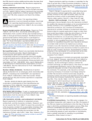 """Instructions for IRS Form 1099-R, 5498 """"Distributions From Pensions, Annuities, Retirement or Profit-Sharing Plans, Iras, Insurance Contracts, Etc."""", Page 2"""