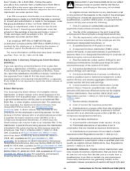 """Instructions for IRS Form 1099-R, 5498 """"Distributions From Pensions, Annuities, Retirement or Profit-Sharing Plans, Iras, Insurance Contracts, Etc."""", Page 4"""
