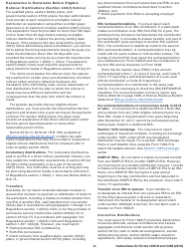 """Instructions for IRS Form 1099-R, 5498 """"Distributions From Pensions, Annuities, Retirement or Profit-Sharing Plans, Iras, Insurance Contracts, Etc."""", Page 6"""