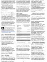 "Instructions for IRS Form 1120-F ""U.S. Income Tax Return of a Foreign Corporation"", Page 21"