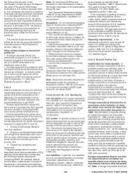 "Instructions for IRS Form 1120-F ""U.S. Income Tax Return of a Foreign Corporation"", Page 28"