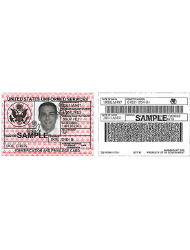 DD Form 1173-1 Department of Defense Guard and Reserve Family Member Identification Card