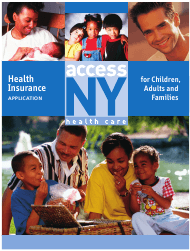 "Form DOH-4220 ""Health Insurance Application"" - New York"