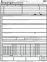 "Form OT/PT-4 ""Occupational/ Physical Therapist's Report"" - New York"