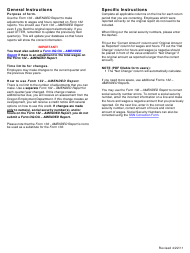"""Instructions for Form 132 """"Amended Report"""" - Oregon"""