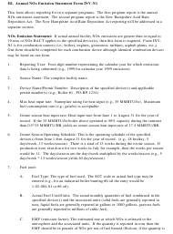 """Instructions for Form INV-N1 """"Annual Nox Emissions Statement Form"""" - New Hampshire"""