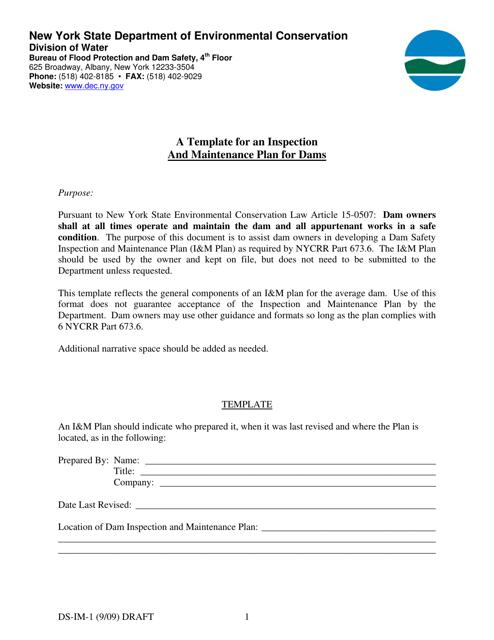 Form DS-IM-1  Printable Pdf