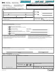 "Form B2G ""Cbsa Informal Adjustment Request"" - Canada (English/French)"