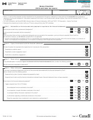 "Form T2 Schedule 141 ""Notes Checklist (2010 and Later Tax Years)"" - Canada"