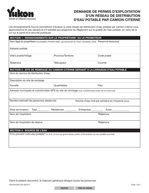 Forme YG5452 Printable Pdf