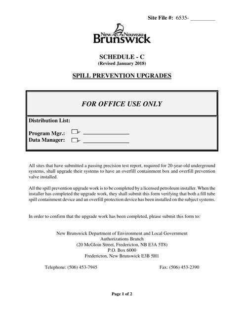 Schedule C Printable Pdf