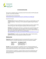 "Instructions for ""Provincial Sales Tax Return"" - Saskatchewan, Canada"