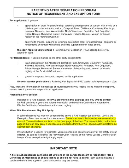 PCFR Form 31 (PFA865) Printable Pdf