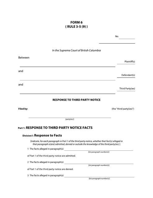 Form 6 Printable Pdf
