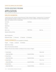 """""""Tuition Assistance Program Application"""" - Newfoundland and Labrador, Canada"""