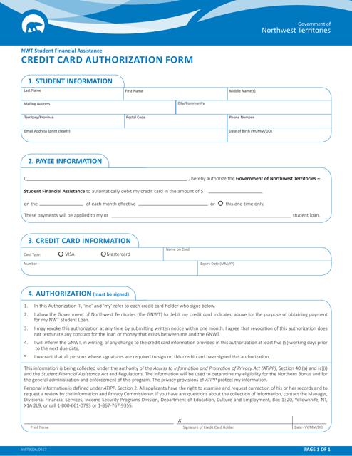 Form NWT9006 Printable Pdf