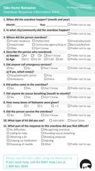 """Take Home Naloxone: Overdose Response Information Form"" - Northwest Territories, Canada"