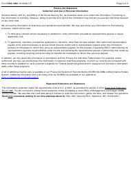 """Form SSA-1383 """"Student Reporting Form"""", Page 3"""