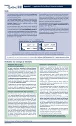"""Form 3003-02A Appendix 2 """"Application for Last-Resort Financial Assistance"""" - Quebec, Canada"""