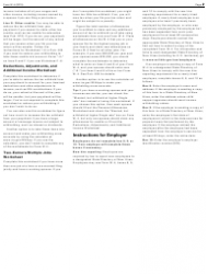 """IRS Form W-4 """"Employee's Withholding Allowance Certificate"""", Page 2"""