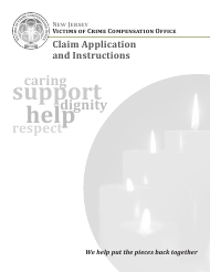 """""""Claim Application Form"""" - New Jersey"""