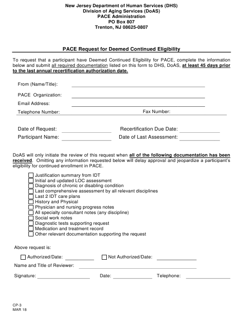 Form CP-3  Printable Pdf