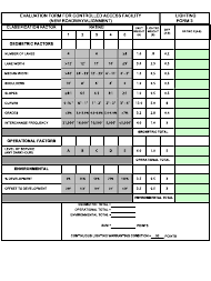"""Form LF-3 """"Evaluation Form for Controlled Access Facility (New Roadway/Alignment)"""" - New Jersey"""
