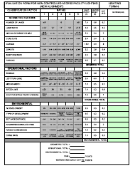 """Form LF-6 """"Evaluation Form for Non-controlled Access Facility Lighting (New Alignment)"""" - New Jersey"""
